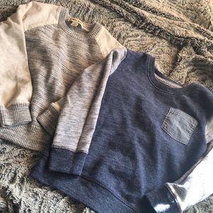 Bundle of 2 boy sweaters